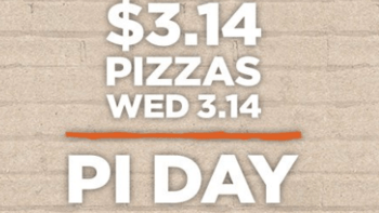 Blaze Pizza $3.14 Pizzas for Pi Day