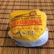 Burger King Double Cheeseburger Wrapper