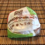 Burger King Whopper Junior Sandwich Wrapper