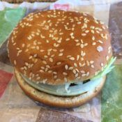 Burger King Whopper Junior Sandwich