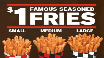 Checkers/Rally's $1 Fries