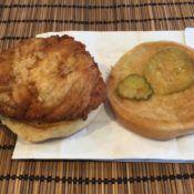 Chick-fil-A Chicken Sandwich Open Face