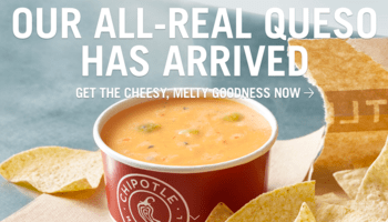 Chipotle New Queso Dip