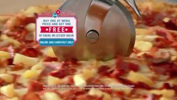 Domino's Buy One Get One Free Pizza