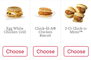 Chick-Fil-A Free Breakfast Sandwich [September]