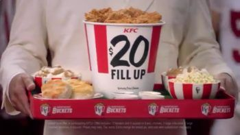 KFC $20 Fill Up Meal Deal