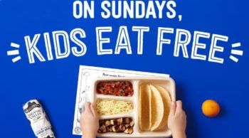 Kids Eat Free on Sunday at Chipotle