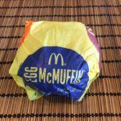 McDonald's Egg McMuffin Wrapper