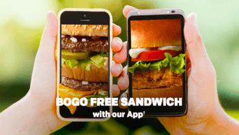 McDonald's BOGO Free Sandwich
