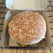 McDonald's Quarter Pounder with Cheese Bun