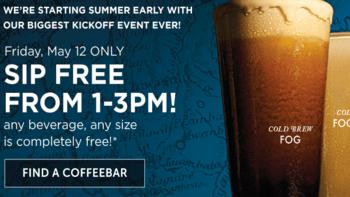 Peet's Coffee One Free Coffee