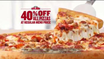 Papa John's 40% Off Deal