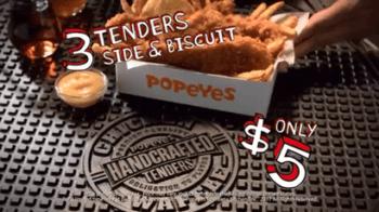 Popeyes $5 Chicken Waffle Tenders Deal