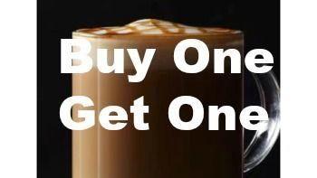 Starbucks B1G1 Macchiato Beverage