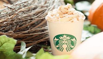 Starbucks Pumpkin Spice Latte Is Back