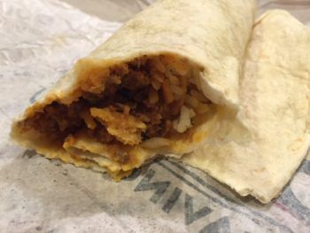 Taco Bell Beefy Fritos Burrito Review & Nutrition