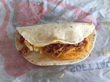 Taco Bell Breakfast Soft Taco Review & Nutrition