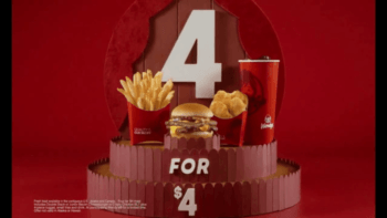 Wendy's 4 for $4 Meal Deal