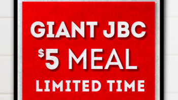 Wendy's Giant JBC Meal