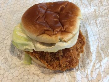 Wendy's Spicy Chicken Sandwich Review & Nutrition