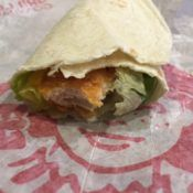 Wendy's Spicy Chicken Wrap