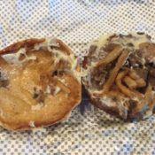 checkers buttery steakburger open face